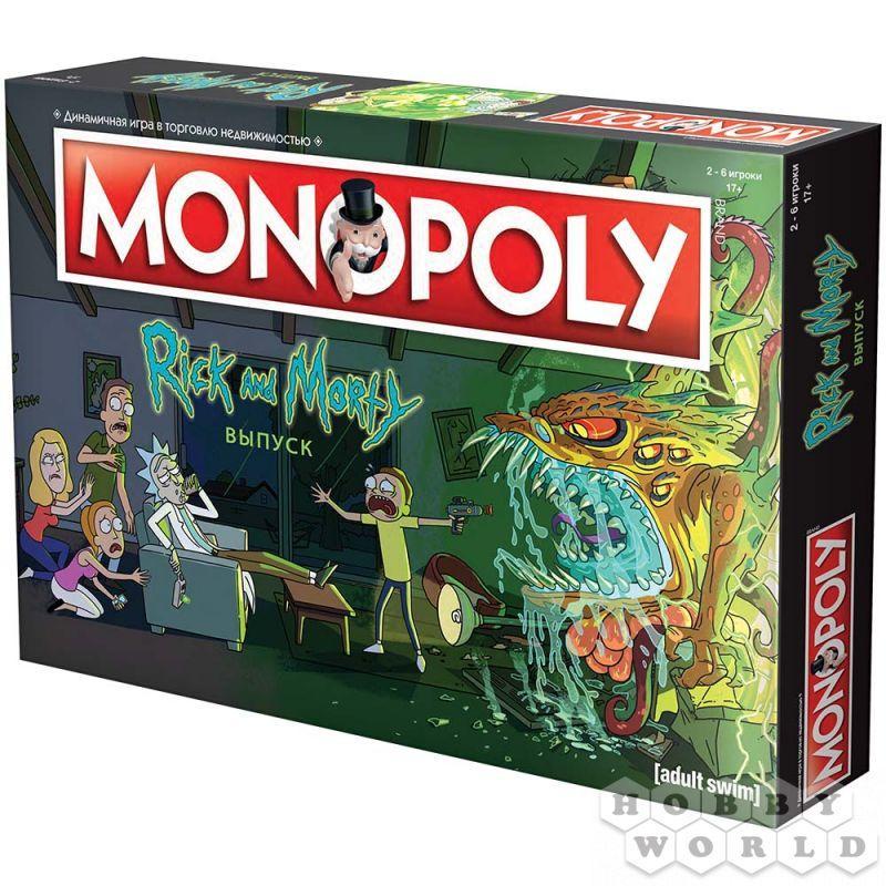 Настільна гра Монополія. Рік і Морті