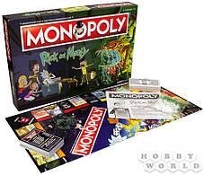 Настільна гра Монополія. Рік і Морті, фото 2