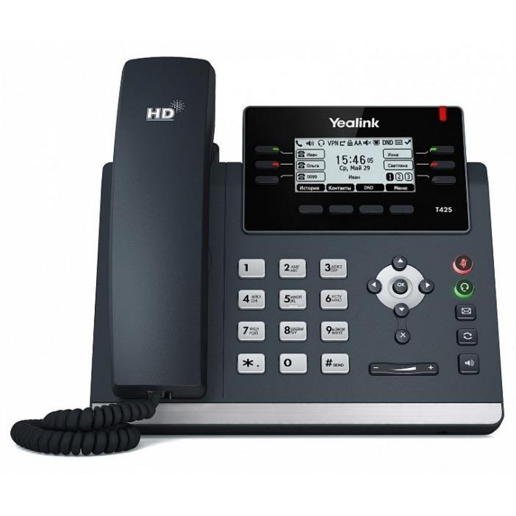 IP телефон Yealink SIP-T42S