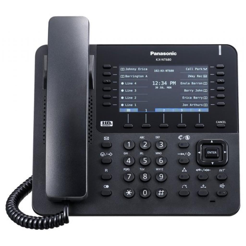 IP телефон PANASONIC KX-NT680RU