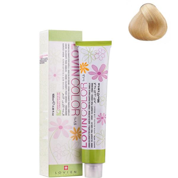 Стойкая крем-краска для волос Lovien Essential Lovin Color №900 Натуральный блонд 100 мл