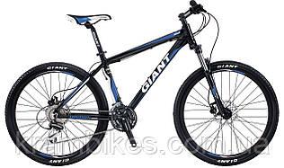 "Велосипед Giant - Rincon Disc Электро (2015) (26""-L) Чёрный/Синий"