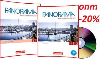 Немецкий язык / Panorama/ Kursbuch+Arbeitsbuch+CD. Учебник+Тетрадь (комплект), B1.2/ Cornelsen