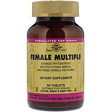 Вітаміни Солгар Комплекс для жінок 60 таблеток Solgar Female Multiple (5324890)