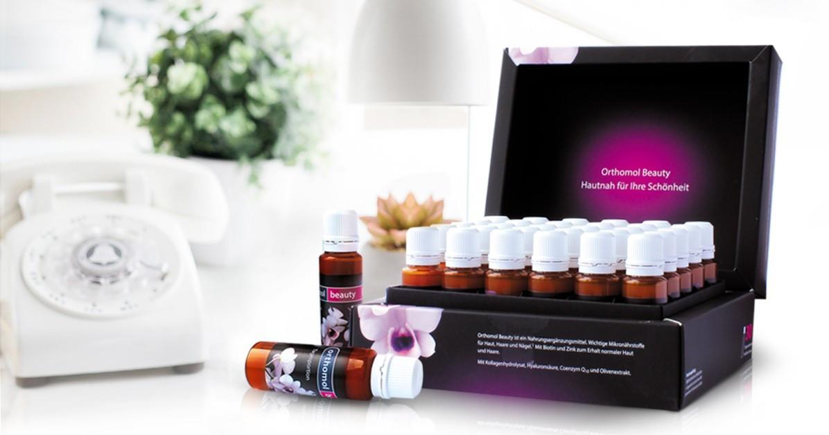 Витамины Ортомол Бьюти для волос, кожи и ногтей 30 флаконов Orthomol Beauty (5324853)