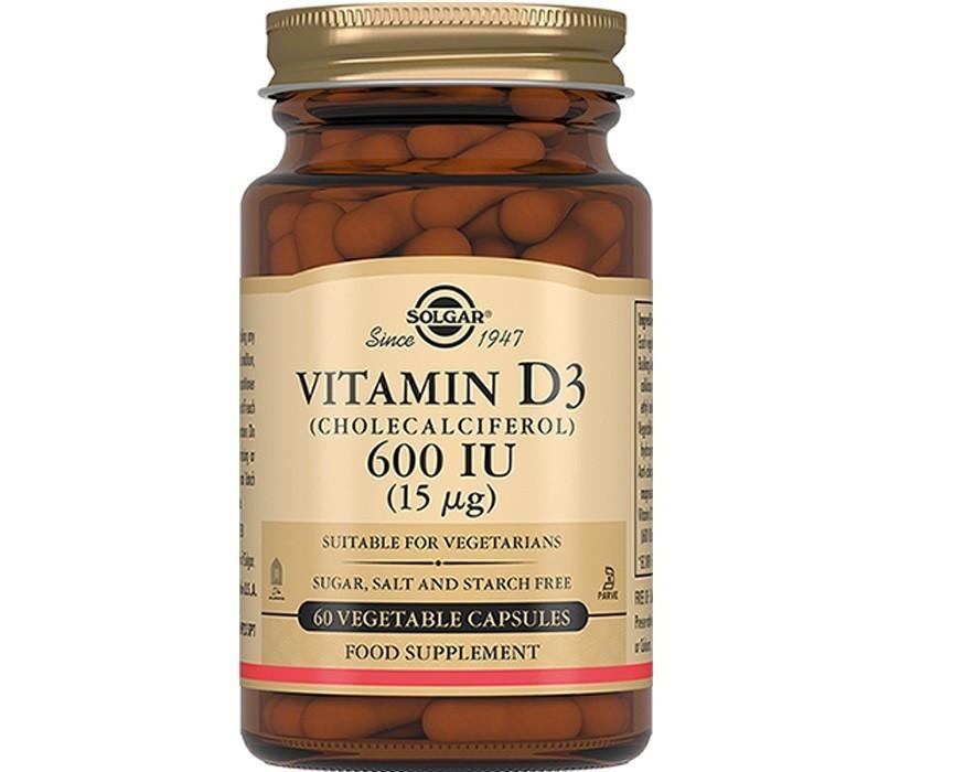 Витамины Солгар Витамин Д3 600 МЕ 60 капсул Solgar Vitamin D3 (5324862)