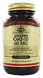 Амінокислота Солгар Коензим Q-10 30 капсул 60 мг Solgar Q-10 (5324889), фото 2