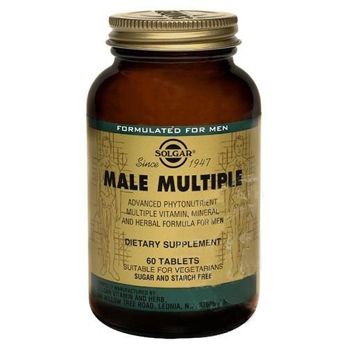 Вітаміни Солгар Комплекс для чоловіків 60 таблеток Solgar Male Multiple (5324891)