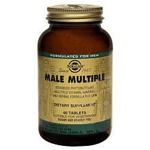 Витамины Солгар Комплекс для мужчин 60 таблеток Solgar Male Multiple (5324891)