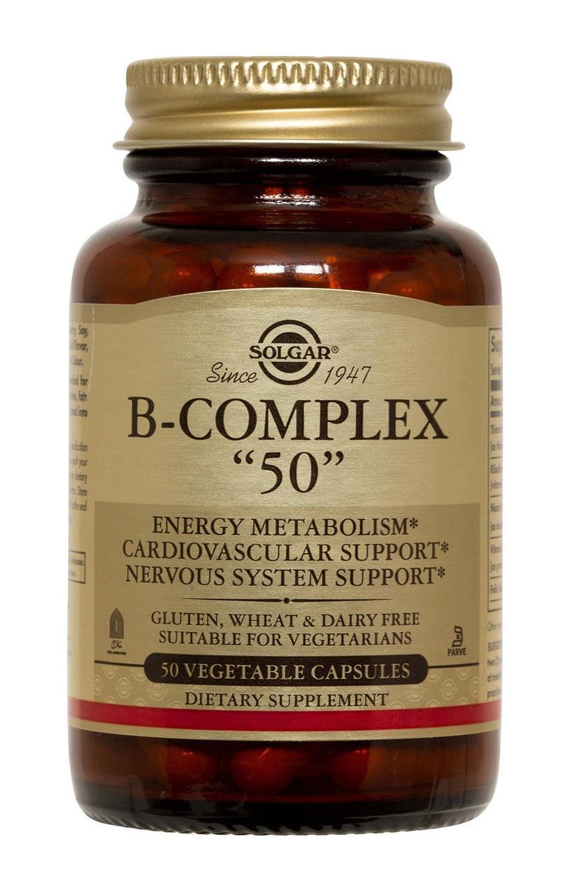 """Вітаміни Солгар В-Комплекс """"50"""" 100 капсул Solgar B-Complex(5324952)"""