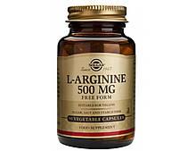 Аминокислота Solgar L-Аргинин 500 мг 50 капсул Solgar L-Arginine (5324856)