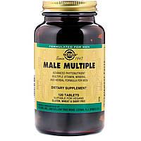 Витамины Solgar Male Multiple комплекс для мужчин 120 таблеток (5324956)