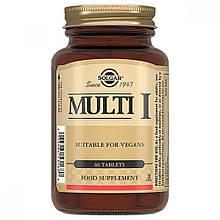 Витамины Солгар Мульти-I 60 таблеток Solgar Multi I (5324901)