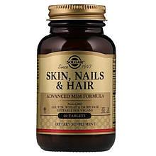 Витамины Солгар Кожа волосы ногти 60 таблеток Solgar Skin, Nails & Hair (5324921)