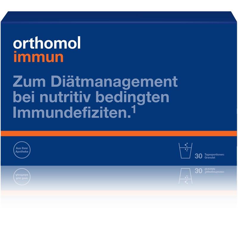 Витамины Ортомол Иммун для иммунитета гранулы 30 саше на 30 дней Германия Orthomol Immun