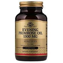 Биологически Активные Добавки Солгар Масло Примулы вечерней 500мг 60 капсул Solgar Evening Primrose Oil