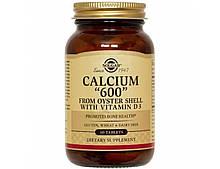 Минералы Солгар Кальций из раковых устриц 600 60 таблеток Solgar Calcium (5324880)