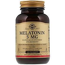 Биологически Активные Добавки Солгар Мелатонин 5 мг 120 таблеток Solgar Melatonin (5324936)