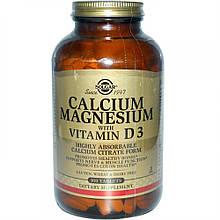 Микроэлементы Солгар Кальций Магний D3 1550 мг 300 таблеток Solgar Calcium Magnesium D3(7850979)