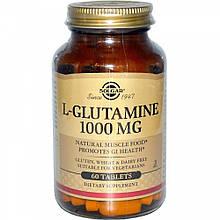 Аминокислота Солгар L-глутамин 1000 мг 60 таблеток Solgar L-Glutamine (5324859)