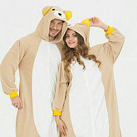 Пижама Кигуруми Медвежонок для детей и взрослых от Украинского производителя