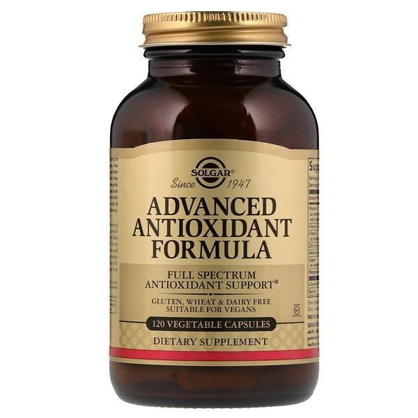 Вітаміни Солгар Покращена Антиоксидантна Формула 120 капсул Solgar Advanced Antioxidant Formula (7865378)