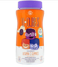 Витамины и минералы Solgar U-Cubes витамин C для детей апельсин и клубника 90 жевательных таблеток(7271011)