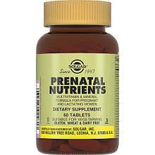 Витамины Солгар Пренатабс 60 таблеток Solgar Prenatal Nutrients (5324918)