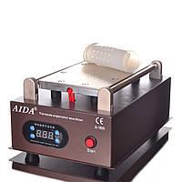 """Вакуумный сепаратор Aida A988-2 8.5""""(19х11см) для телефонов, для разделения модуля, со встроенным компрессором"""