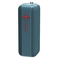 Bluetooth-колонка HOPESTAR-P15, StrongPower, c функцией speakerphone, радио, PowerBank, blue, фото 1