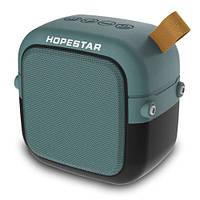 Bluetooth-колонка HOPESTAR-T5 MINI, StrongPower, c функцией speakerphone, радио, green, фото 1