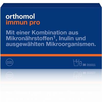Витамины Ортомол Иммун Про для иммунитета и микрофлоры 30 дней гранулы/капсулы Orthomol Immun Pro (9163622)