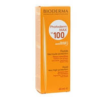 Солнцезащитная эмульсия Bioderma Photoderm Max Spf 100 Sun Fluid 40 мл
