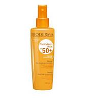 Солнцезащитный спрей для тела и лица Bioderma Photoderm Photoderm Max Spray SPF 50+ 200 мл