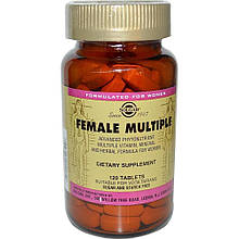 Витамины Solgar Мультивитамины для женщин 120 таблеток Female Multiple