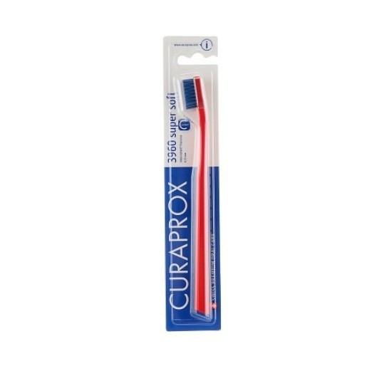 Зубная щетка Curaprox CS 3960 Super Soft супер мягкая красная