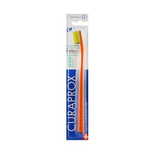 Зубна щітка Curaprox CS 5460 Ortho Ultra Soft ультра-м'яка жовта