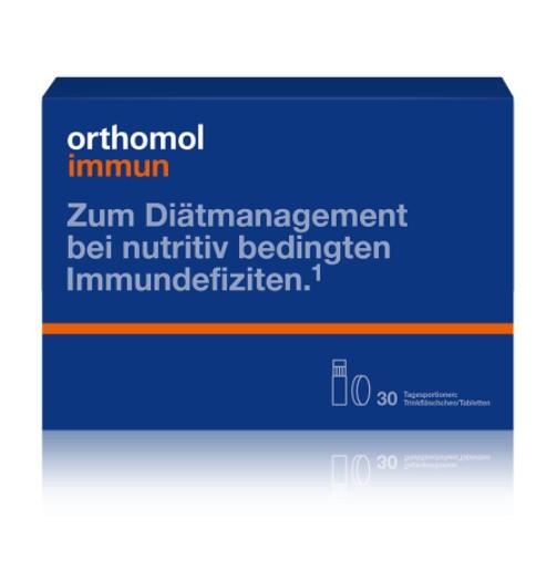 Витамины Ортомол Иммун для укрепления иммунитета 30 дней питьевой Германия Orthomol Immun(9166230)