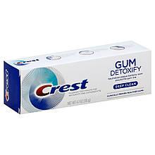 Зубная паста Crest Глубокое очищение и детоксикация от микробов Gum Detoxify Deep Clean Toothpaste 116 г