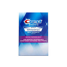 Отбеливающие полоски для зубов Crest 3D White Whitestrips Monthly Whitening Boost 12 шт