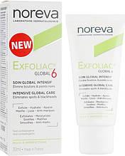 Крем для лица Noreva Exfoliac Global 6 Severe Imperfections Cream Норева Ексфолиак Глобал 6 для проблемной