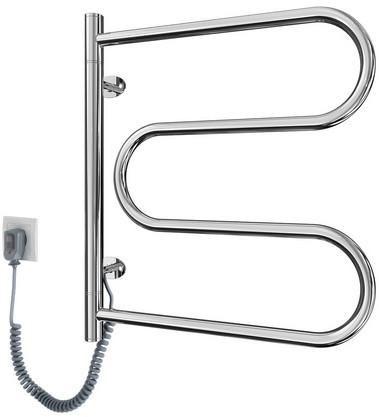 Поворотный электрический полотенцесушитель Марио Ласо–І 550x520/120