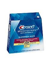 Отбеливающие полоски Whitestrips Crest 3D White Glamorous White 28 шт на 14 применений
