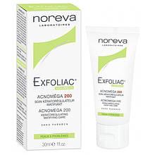 Крем для лица Noreva Laboratoires Exfoliac Acnomega Норева Акномега 200 30 мл