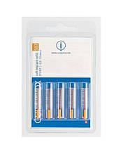 Набор ёршиков для имплантов Curaprox Soft implant brushes оранжевые 7.5 5 шт без держателя