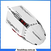 Игровая мышь с подсветкой Zornwee GX20 Белая, фото 2