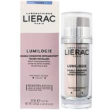 Денний і нічний подвійний концентрат для корекції темних плям Lierac Лиерак Lumilogie 30 мл (2х15 мл)