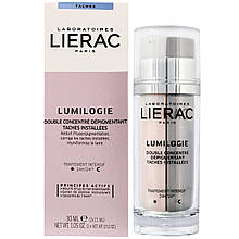 Дневной и ночной двойной концентрат для коррекции темных пятен Lierac Лиерак Lumilogie 30 мл (2х15 мл)