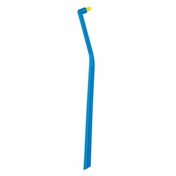 Зубна щітка монопучкова Curaprox CS 1006 Single & Sulcular 6 мм синьо-жовтий