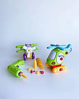 Игровой набор конструктор самолёт и вертолёт build and play Keenway